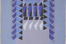 Textile designs by Frances Hodgkins