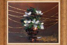Çiçek Yağlı Boya Tablolar