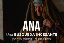hombres y mujeres de la Biblia