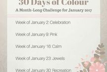 30 Days Of Colour 2017