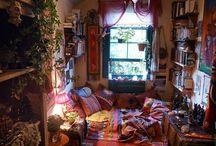 színes nappali