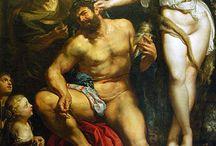 ARTIST - Peter Paul Rubens / Paintings and sketches, by the Flemish Baroque Artist, Peter Paul Rubens, 1577-1640.
