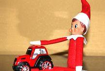 Elf on the shelf ideas for Easton / by Michelle Hacker