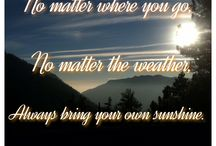 Quotes / Uplifting, inspiring and encouraging quotes to brighten your day.