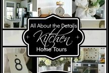 All Things Home - Blogger Home Tours & More / Blogger home tours, holiday tours, and room tours. / by Jessica Kielman         {Mom 4 Real}
