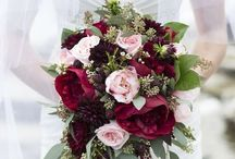 Burgundy bouquet