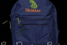Personalized Backpacks and Lunch Bags