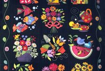 Quilting - Applique / A place for me to put quilts, particularly those with applique which is a favorite method of working with fabric for me / by Kristin Freeman