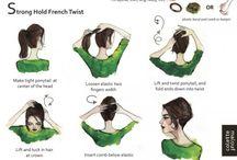 Opsat hår