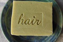 soap and shampoo