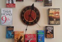 часы книги