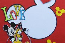 Disney -Scrapbook