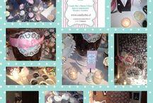 Candy Chic / Ofrezco el servicio de armado de una mesa con dulces, recuerdos y golosinas para los invitados. Excelente idea en un matrimonio, cumpleaños, aniversario, bautizo o cualquier evento que quieras adornar.