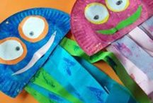 paper plate crafts for children can make.  / by Vickie Stone Chafin