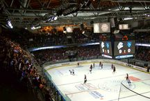 European hockey arenas / There ain't better place than hockey arena.