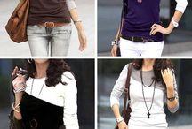 Colour Blocking Garments