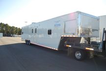 Mobile Dental Office Trailers / Take your dental office on the road! These mobile dental trailers allow dentist the ability to travel to their clients. We customize these trailers with state-of-the-art equipment while keeping the comforts of your clients in mind.