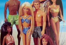 Lapsellista 1 / Barbies me and my sisters used to play with / by Riikka Laurila