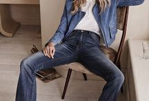Denim and blues / Denim is one of the biggest trends right now and we have caught the fever! We have this thing for denim.