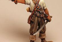 Piratas figuras fantàstiques