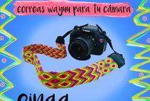 Correas Wayuu para tu cámara / accesorios para cámaras fotográficas fotografía
