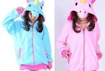 pijamas unicornio