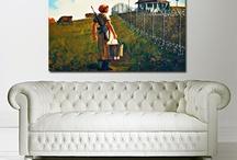 Canvas Art Shop Banksy / Banksy canvas prints by The Canvas Art Shop. Affordable Banksy wall art.