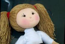 Cabelo de bonecas...