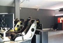 ellip6 Ajaccio = 4 simulateurs / Bar, lounge, restaurant, événements et séminaire et 4 simulateurs ellip6 à Caldaniccia.