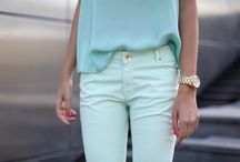 spring trend {2012} : tonal colour-blocking