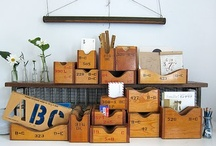 Upcycle Crates and pallets / by Anne Magnier