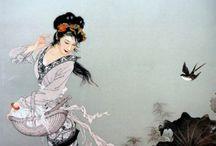 Картины японских художников