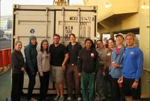 Our Department of Geosciences Explores the Ocean / Six members of the Ward lab at Princeton University measure ocean dynamics on the waters off Chile and Peru. Follow their adventure here: http://bit.ly/18zutbR Photos courtesy of Nick Peng.