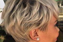 Grey short styles