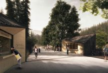 Tatra National Park / entrances / Entrances to Tatra Nationak Park, Poland  Project 2015 - 1st prize in the competition  Investor: Tatra National Park Location: Poland, Tatra National Park