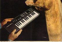 Vintage Music ads
