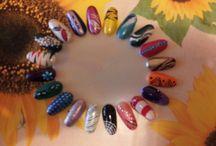 A. Nails Art / Idee semplici e facili da realizzare per ogni momento, evento, per unghie corte, medie e lunghe....con smalto, gel o semipermanente    ^^