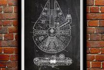 Star Wars Toddler Room