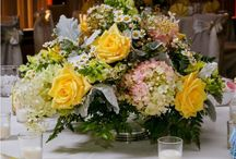 Wedding Receptions / Wedding Reception decor by Douglas Koch Designs. Pins will include table centerpieces, bar florals, buffet florals. Also includes other decor such as linens, lighting candles and vases.
