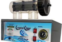 Chlorinators Cell / This board showcases the Crystal Clear Self Cleaning Chlorinators cells which will help to keep your swimming pool clean.