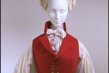 18th century woman waistcoat / For sewing