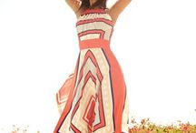 Maxi Dress / #maxidress #longdress #printeddress