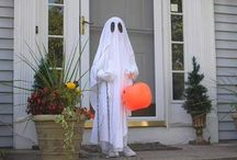 Bed sheet ghost costume /      Very easy and the best costume out on the streets.I was it one year and I was the most popular person out there. I was always getting cool comments.