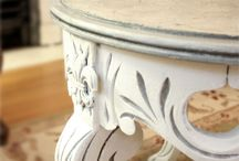 Annie Sloan Chalk Paint  * DIY * Makeovers * Tutorials / by The Decorated House ~ Donna Courtney