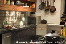 inspirações cozinha rústica