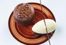 Dessert À L'assiette Gastronomique