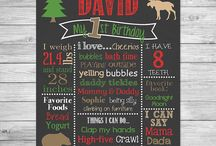 Lumberjack Birthday Party - Moose Birthday Party / Lumberjack or Moose themed birthday party