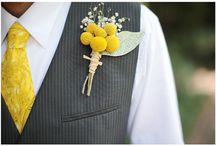 Boutonnieres + Corsages / Inspiration for wedding boutonnieres and corsages!