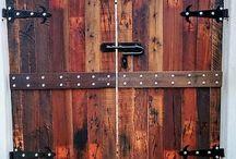 Wooden Gates, Doors