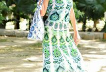 Mandala Evening Gown